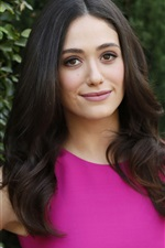 Preview iPhone wallpaper Emmy Rossum 04