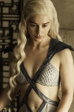 Preview iPhone wallpaper Game of Thrones, Daenerys Targaryen