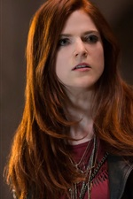 Preview iPhone wallpaper Rose Leslie, The Last Witch Hunter
