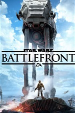 Preview iPhone wallpaper Star Wars Battlefront, EA games