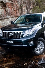 Preview iPhone wallpaper Toyota Prado SUV car