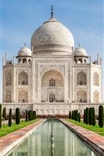 미리보기 iPhone 배경 화면 인도, 타지 마할, 성 여행