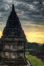 Preview iPhone wallpaper Travel to India, temple, stones, dusk