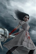 Preview iPhone wallpaper Alice Madness Returns, games art picture