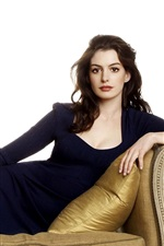 Preview iPhone wallpaper Anne Hathaway 20
