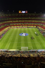 Preview iPhone wallpaper Barcelona Football Club, football stadium
