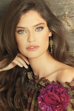 Preview iPhone wallpaper Bianca Balti 07