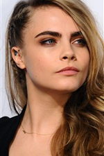 Preview iPhone wallpaper Cara Delevingne 13