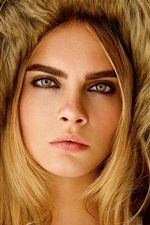 Preview iPhone wallpaper Cara Delevingne 16