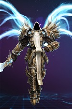 Preview iPhone wallpaper Diablo 3 PC game