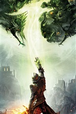 Preview iPhone wallpaper Dragon Age: Inquisition