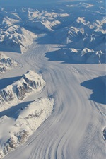 Preview iPhone wallpaper Greenland thick snow