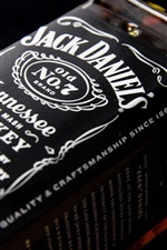 Preview iPhone wallpaper Jack Daniels whiskey