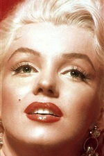 Preview iPhone wallpaper Marilyn Monroe 02