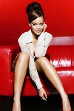 Preview iPhone wallpaper Rihanna 07
