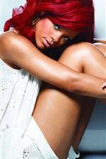 Preview iPhone wallpaper Rihanna 08