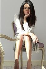 Preview iPhone wallpaper Selena Gomez 12