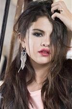 Preview iPhone wallpaper Selena Gomez 13