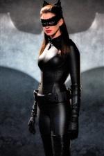 Preview iPhone wallpaper Anne Hathaway, Catwoman
