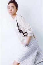 Preview iPhone wallpaper Aragaki Yui 07