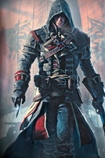 Preview iPhone wallpaper Assassin's Creed: Rogue, Ubisoft games