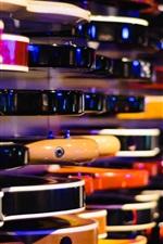 iPhone fondos de pantalla Bajo, guitarra, tienda