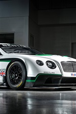 Preview iPhone wallpaper Bentley Continental GT3 race car