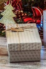 미리보기 iPhone 배경 화면 크리스마스 장식, 랜턴, 상자, 촛불, 선물