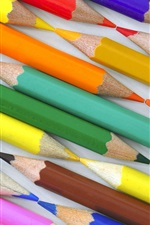 Preview iPhone wallpaper Colorful pencils