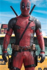 Preview iPhone wallpaper Deadpool, Marvel movie
