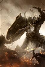 Preview iPhone wallpaper Diablo 3, Reaper of Souls, video game