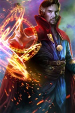 Preview iPhone wallpaper Doctor Strange, art picture