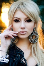 Preview iPhone wallpaper Ekaterina Fetisova 10