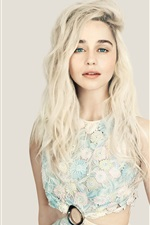 Preview iPhone wallpaper Emilia Clarke 03