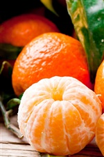 Preview iPhone wallpaper Fruit photography, citrus, tangerines