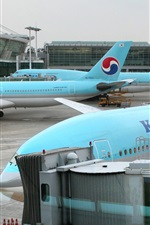 Preview iPhone wallpaper Korean Air, Incheon International Airport