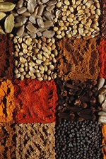 Preview iPhone wallpaper Many kinds of spices