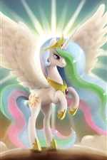 Preview iPhone wallpaper My Little Pony, princess, wings, art drawing