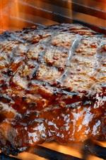 Preview iPhone wallpaper Roast steak