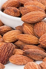 Preview iPhone wallpaper Roasted almonds