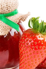 Preview iPhone wallpaper Strawberry jam