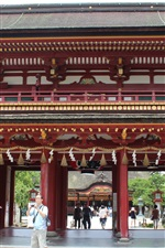 Preview iPhone wallpaper Travel to Japan, Dazaifu
