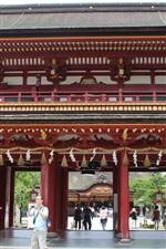 iPhone fondos de pantalla Viaje a Japón, Dazaifu