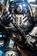 Preview iPhone wallpaper Warhammer 40K, Grey Knights