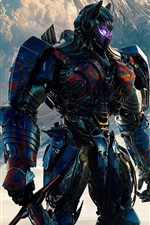Preview iPhone wallpaper 2017 Transformers: The Last Knight, Optimus Prime