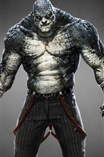 Preview iPhone wallpaper Batman: Arkham Origins, Killer Croc