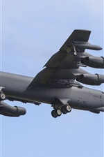 Preview iPhone wallpaper Boeing B-52H bomber