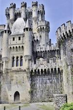 Preview iPhone wallpaper Butron Castle, Spain