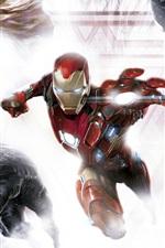 Captain America: Civil War, superheroes, art picture