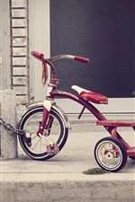 Preview iPhone wallpaper Children toy, tricycle